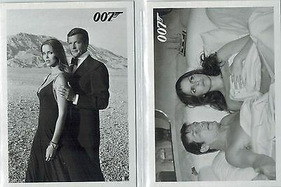 *James BOND: «The Spy Who Loved My» Throwback Complete Set of 93 Cards
