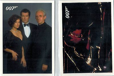 *James BOND: «Tomorrow Never Dies» Throwback Complete Set of 93 Cards