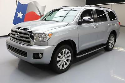 2015 Toyota Sequoia Limited Sport Utility 4-Door 2015 TOYOTA SEQUOIA LIMITED 4X4 7-PASS SUNROOF NAV 24K #126556 Texas Direct Auto