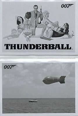 *James BOND: «Thunderball» Throwback Complete Set of 99 Cards
