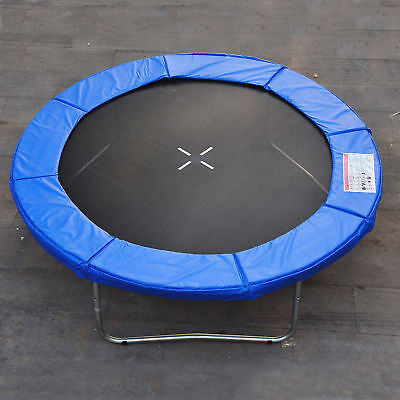 HomCom Φ8ft Trampoline Pad Spring Safety Replacement Gym Bounce Jump Cover EPE