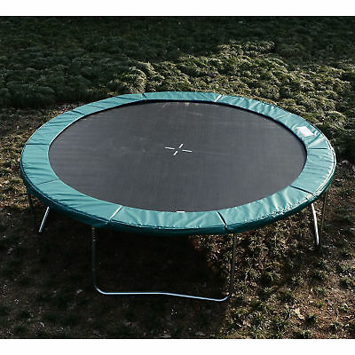 HomCom Φ12ft Trampoline Pad Safety Replacement Gym Bounce Jump Cover PEP Green