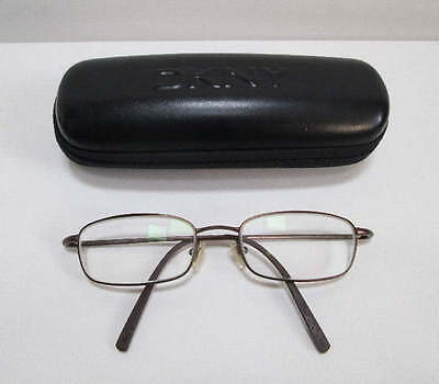 DKNY 6610 226 Titanium Eyeglasses Frame Made in Japan