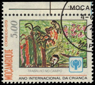 """MOZAMBIQUE 634 (Mi697) - Year of the Child """"Farmers"""" (pa60851)"""
