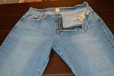 8607-e Mens Lucky Brand Jeans Size 32 x 28.5 Blue Jeans Classic Straight