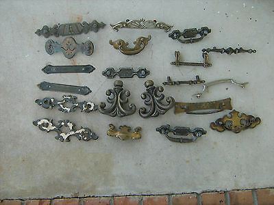 Estate Find Lot Of 20 Assorted Antique Furniture Hardware  Lot-2