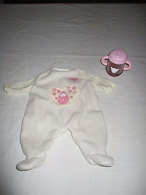 Zapf Baby Annabell Magic Milk Bottle / Sippy Cup Replacement & Sleeper