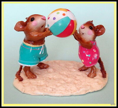 Wee Forest Folk M-279 HAVING A BALL-Limited Edition -RETIRED 2003