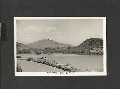 Vintage Real Photo Postcard Ullswater Lake District Cumbria unposted
