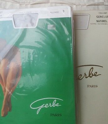 Vintage Fine French Brand New Tights - 2 Pairs