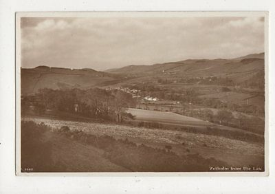Yetholm From The Law Vintage RP Postcard AR Edwards 742a