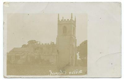 1905. Bawtry, Misson Church. Black And White Real Photo Postcard