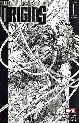 Ultimate Origins #1 Michael Turner Retail Sketch Variant 1:75 Marvel Wolverine