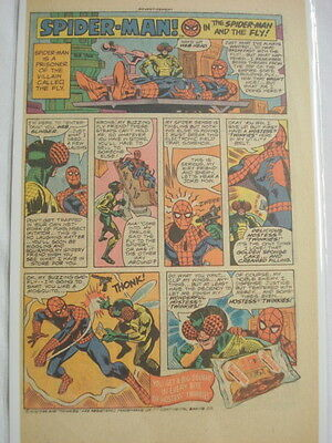 1976 Hostess Twinkies Ad Spider-Man and The Fly