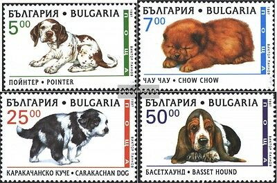Bulgaria 4265-4268 (complete.issue.) unmounted mint / never hinged 1997 Dog