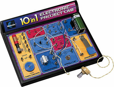 10 In 1 Electronics Lab Kit Suitable for children aged 8 and over