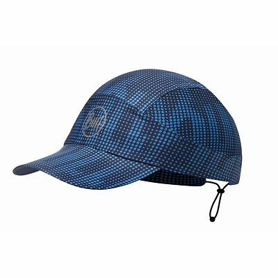 Buff Pack Run Cap R-Deep Logo Dark Navy Schildmütze blau