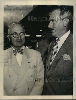 1971 Press Photo President Harry Truman, Dean Acheson at South Korea Conference