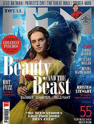 Total Film Magazine March 2017 Beauty and the Beast Emma Watson Dan Stevens