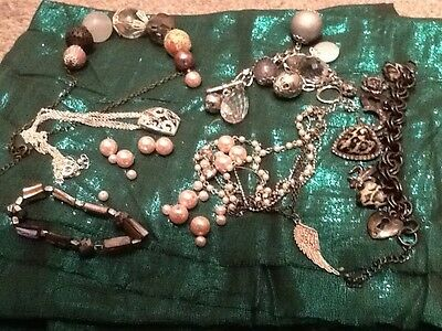 Costume Jewellery Mixed Lot For Upcycling