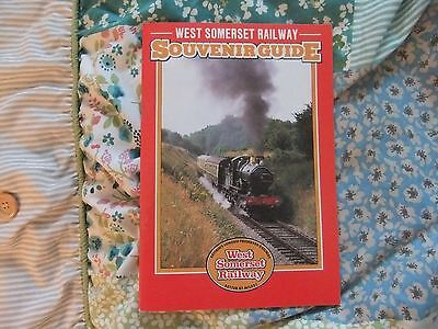 West Somerset Railway Minehead Bishops Lydeard GWR Railway Guide Book 1990s