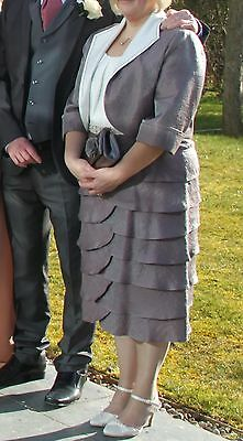 Dress & Matching Jacket size 16 -  mother of the bride or groom