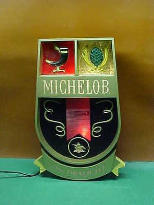 Collectible MICHELOB Lighted Sign, from the '60s
