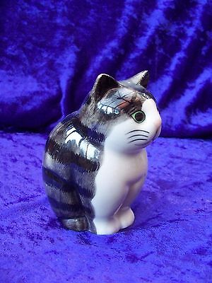 Quail Pottery Cat  MARNIE Collectable Tabby