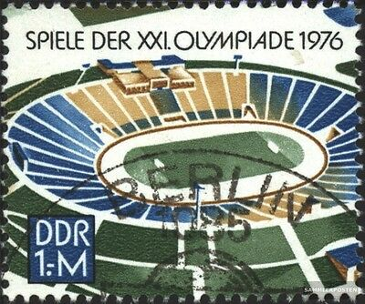 DDR 2132 (complete.issue) first-day stamp used 1976 Olympics