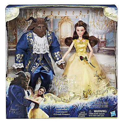 Beauty and the Beast Grand Romance Movie Doll 2 Pack w Belle