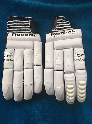 Reebok Cricket Gloves Men's - Test Quality - White
