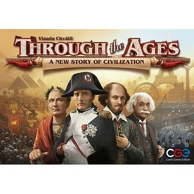 Through the Ages A New Story of Civilization Board Game Brand New