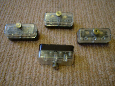 Original voltage selector block for Garrard 301 turntable,with clear cover.