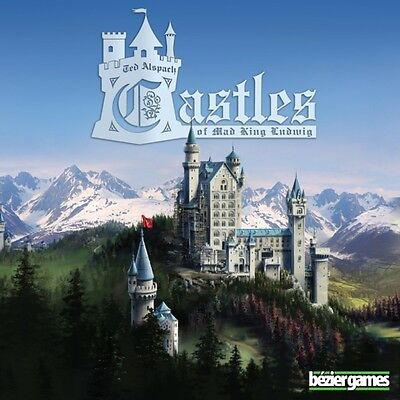 Castles of Mad King Ludwig Board Game Brand New