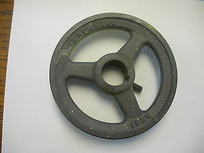 "Browning Ak-61 Sheave  V Belt Pulley Single Groove 5.95"" Od 1-3/16"" Bore"