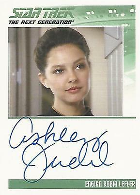 "Complete Star Trek TNG S2 - Ashley Judd ""Ensign Robin Lefler"" Autograph Card"