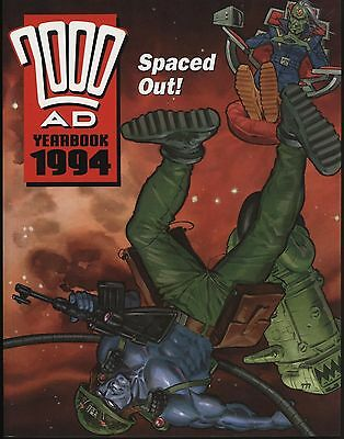 2000AD 1994 YEARBOOK IN  MINT! GREAT ARTWORK THROUGHOUT. UNREAD 2nd COPY