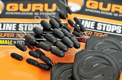 Guru Super Tight Line Rubber Stops NEW Coarse Fishing Float Stops *ALL SIZES* x3