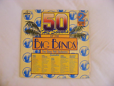 50 Hit Soundsof The Big Bands. The Dave Pell Orchestra 2 Vinyl Lp (12214)