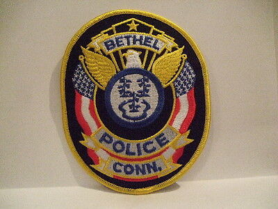police patch  BETHEL  POLICE CONNECTICUT