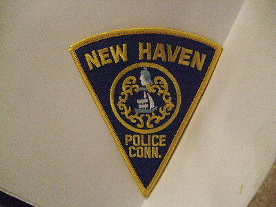 police patch  NEW HAVEN POLICE CONNECTICUT