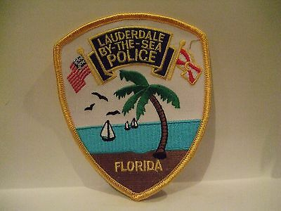 police patch  LAUDERDALE BY THE SEA POLICE  FLORIDA