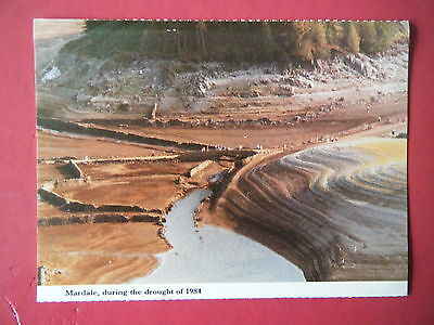 Mardale, During The Drought Of 1984 - Scarce Colour Photo Postcard!