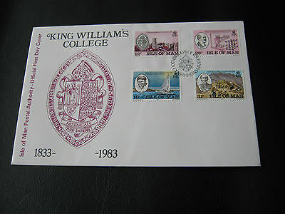 FDC IOM - 1983 - King Williams College ( 2515)