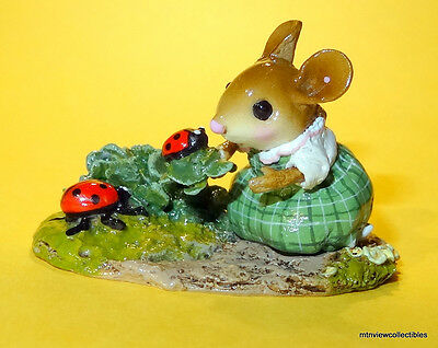 Wee Forest Folk M-513a Shannon's Shamrock Friends-Limited Edition