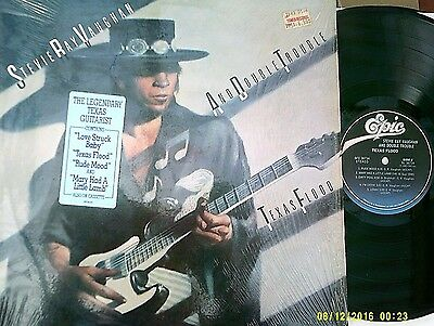 """STEVIE RAY VAUGHAN ~ """"Texas Flood"""" (EPIC) US 1983 - EARLY PRESSING!"""