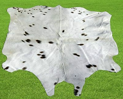 """New Cowhide Rugs Area Cow Skin Leather  (38""""x 46"""") Cow hide LWP-9859"""