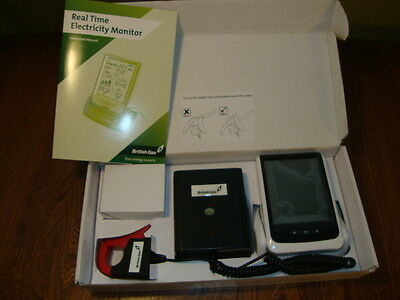 REAL TIME ELECTRICITY MONITOR Brand New/Unused In Box w Instructions British Gas