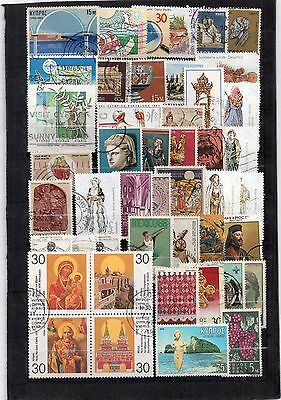 Chypre 46 Timbres Dif 1960 / 1980