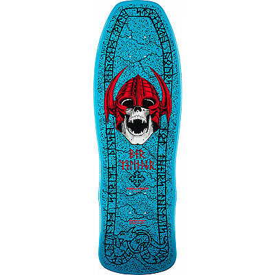 POWELL PERALTA Skateboard Deck PER WELINDER NORDIC SKULL BLUE RE-ISSUE
